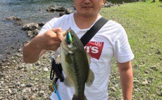 2019/06/19 河口湖 ブラックバス【合計3匹】