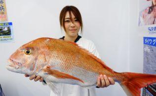 大型の真鯛のお持ち込み頂きました!!南宮崎店