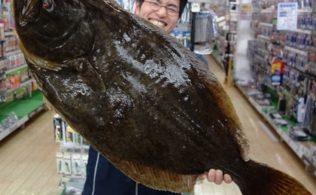 2020/01/18 錦江湾にて座布団ヒラメが釣れております フィッシング 都城店